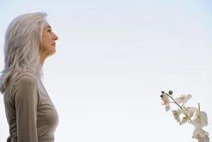 ¿Qué causa la pérdida de pelo gris?