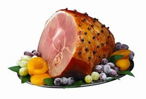 ¿Cómo se vuelva a calentar el jamón en una olla de barro