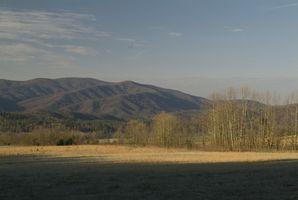Cabinas con vistas a la montaña en Gatlinburg, Tennessee