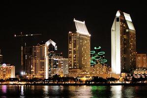 Atracciones nocturnas en San Diego