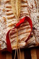 Mezcle los ingredientes del pan