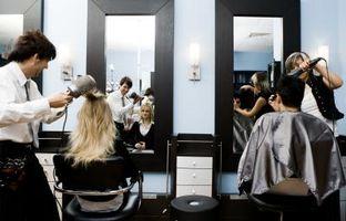 Como recompensa estilistas en un salón