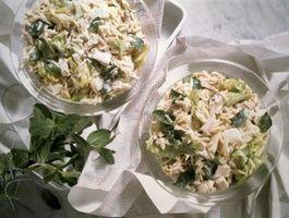 Alternativas para la mayonesa en la ensalada de pollo
