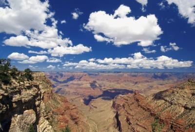 Formaciones rocosas en los Estados Unidos