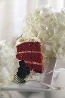 Cuál es el propósito para el vinagre en la torta de terciopelo rojo?