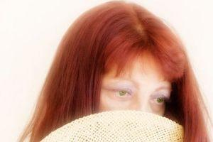 Cómo color de pelo gris con henna