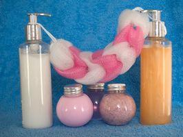 Cómo hacer sus propios cosméticos Botellas