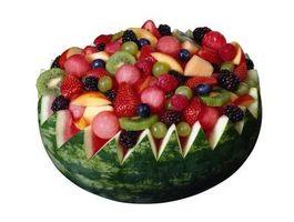 Cómo hacer una ensalada de frutas de verano Melón