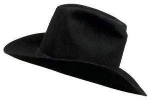 Cómo hacer un sombrero de vaquero de ala