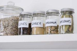 La mejor manera de almacenar hierbas y especias