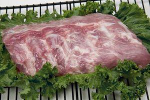 Maneras para cocer al horno de cerdo Piezas de consejos de costilla