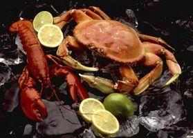 ¿Qué criaturas del océano comer cangrejos?