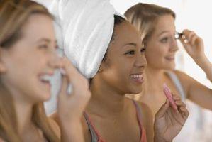 Ideas lindo maquillaje para los adolescentes con los ojos verdes