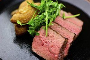 Diferencia entre Rare Steak & Raw