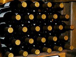 Cómo construir una pared estante del vino