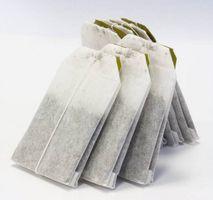¿Qué papel se utiliza para hacer bolsas de té?