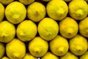 Forma de guardar limones frescos