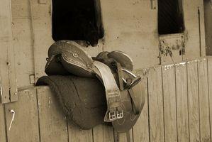 Cómo medir el tamaño Gullet en una silla de montar australiana