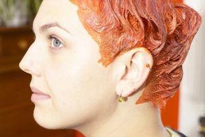 Como el color del cabello de un amigo