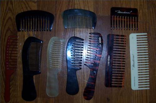 Cómo seleccionar los cepillos y peines para el pelo largo