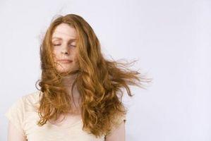 Como la capa de los lados del pelo