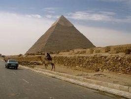 Consejos sobre las pirámides de Giza en Egipto