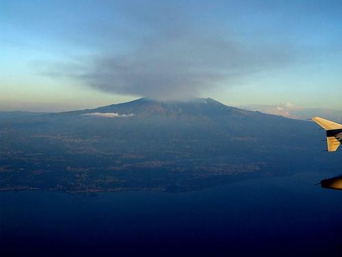 Historias de viajes sobre el Etna, Italia