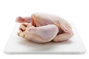 Cómo limpiar pollo con vinagre y limones