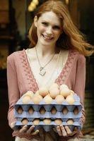 Lo que las gallinas ponen huevos de color de rosa?