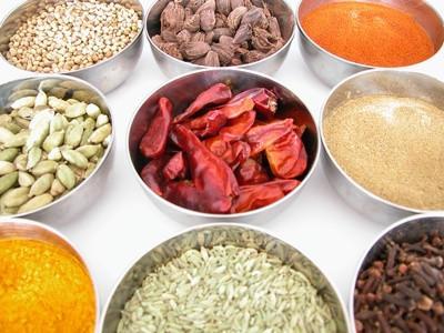 Las especias y hierbas de la India