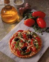 Las mejores verduras para pizza