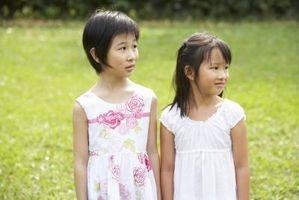 Vestidos hechos a mano simples para niñas