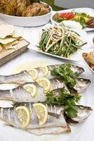 Cómo asar el pescado entero