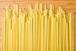 Cosas que hacer con espagueti