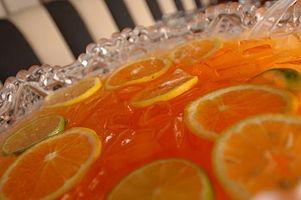 Cómo hacer espumoso Ponche de Frutas
