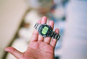 Instrucciones para un reloj Timex