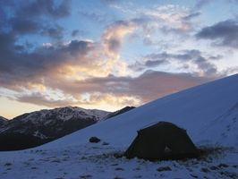 Lista de verificación de acampar del invierno Ropa