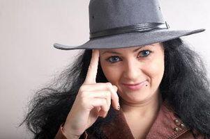 Cómo limpiar un sombrero de fieltro