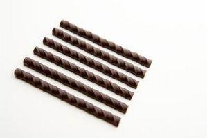 Tipos de revenido para chocolate