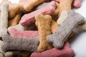Forma de guardar las galletas para perros