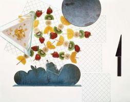 Las ideas de frutas Brocheta