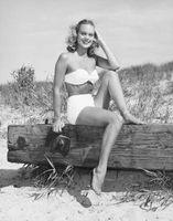 1940 trajes de baño Inspirado