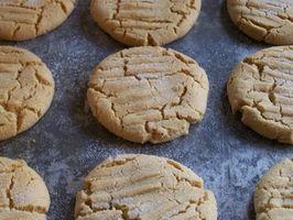 Cómo hacer mantequilla de maní Mezcla para preparar galletas