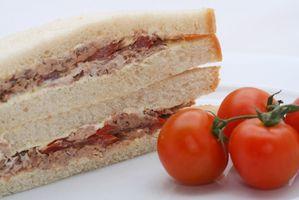 Tipos de panes Sandwich