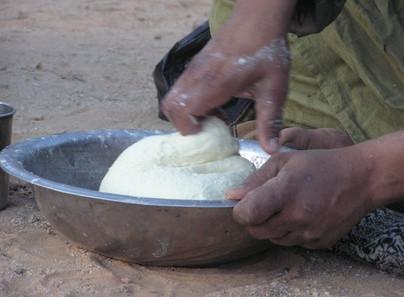 Cómo hacer la pasta de azúcar blanca melcocha del chocolate