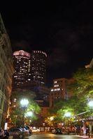 Los restaurantes en Newberry Street, en Boston