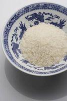 Cuál es la diferencia entre el arroz y el arroz del vinagre de vino en la cocina china?