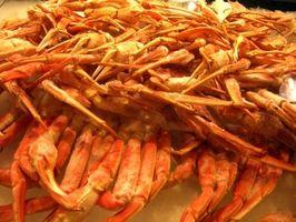 Cómo cocinar al horno Piernas de rey cangrejo
