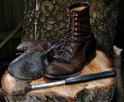 Cómo romper en un nuevo par de botas de trabajo de Wolverine