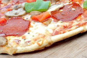 Cómo hacer la pizza congelada corteza crujiente